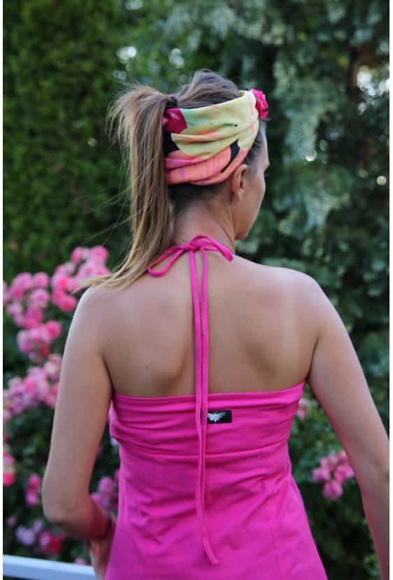 Koszulka na ramiączkach BONNIE TOP rożowa