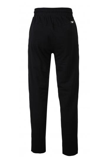 Spodnie proste TILDA PANTS czarne_3
