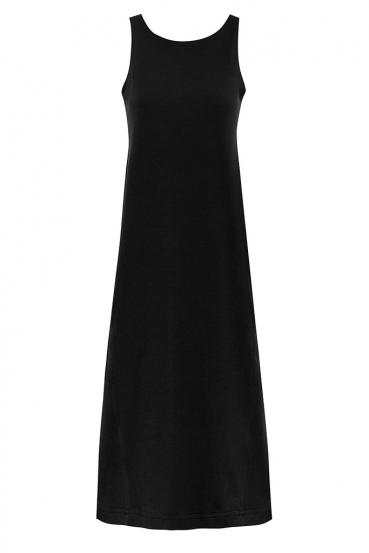Sukienka maxi DEVEN DRESS czarna_2