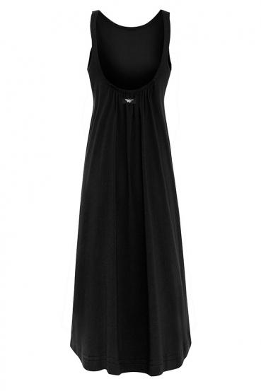 Sukienka maxi DEVEN DRESS czarna_3