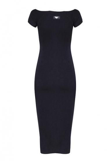 Sukienka midi HILLARY DRESS czarna_2