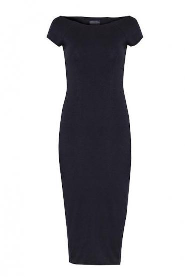 Sukienka midi HILLARY DRESS czarna_3