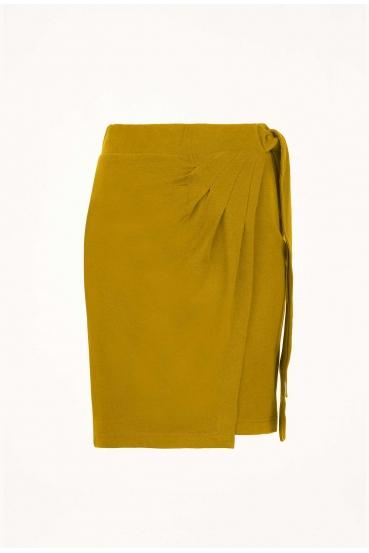 Spódnica mini JOHANNA SKIRT żółta_2