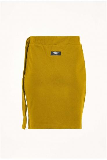 Spódnica mini JOHANNA SKIRT żółta_3