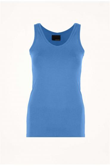 Koszulka na ramiączkach JILLY TOP niebieska_3