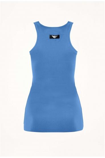 Koszulka na ramiączkach JILLY TOP niebieska_4