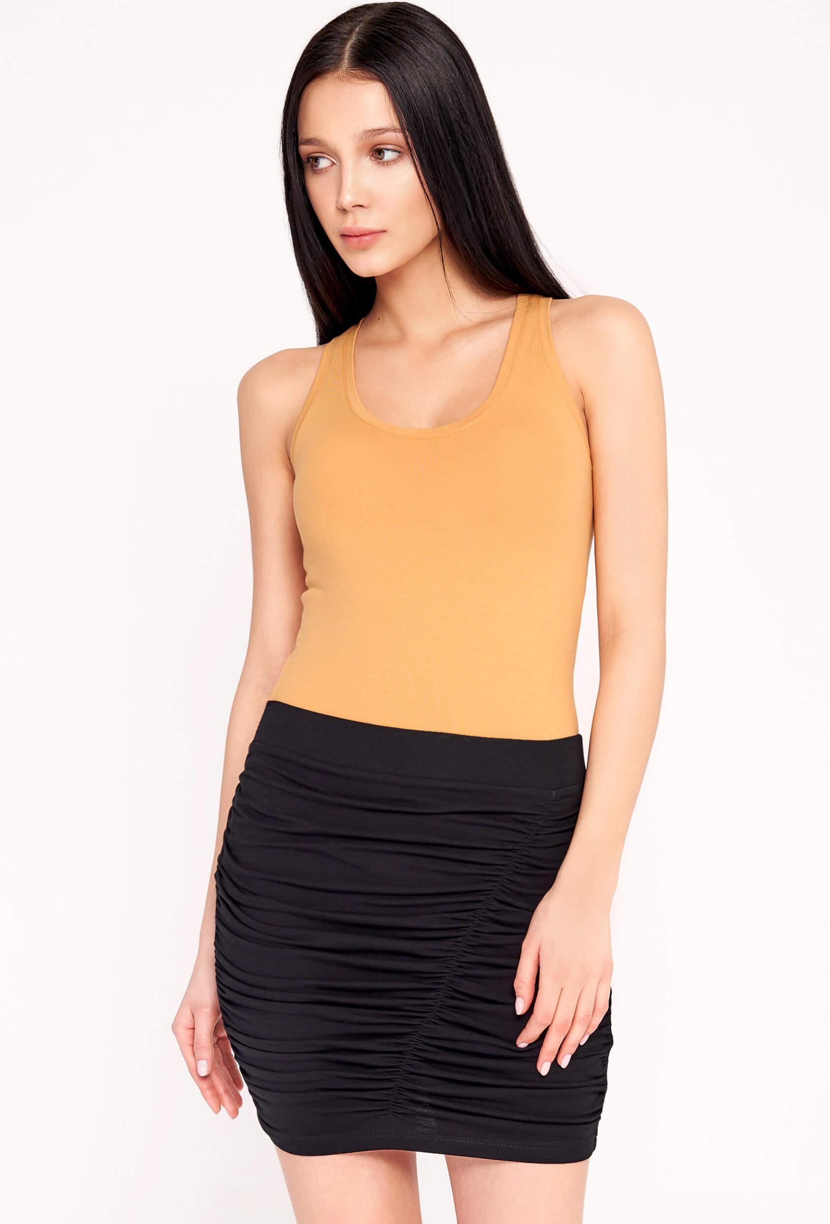 Spódnica mini ROONEY SHORT SKIRT czarne