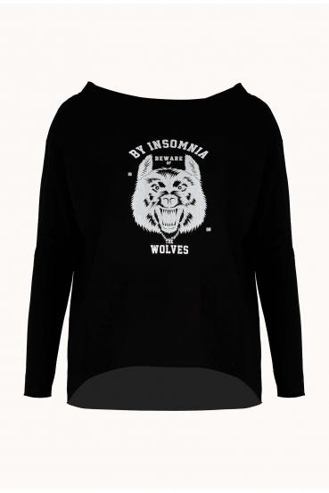 "MEGAN T-SHIRT LONG ""WOLF"""