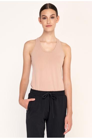 Spodnie proste TILDA PANTS czarne_1