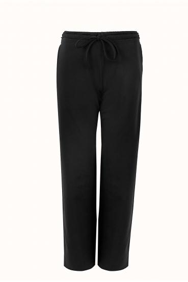 Spodnie bawełniane LUCCA PANTS czarne_4