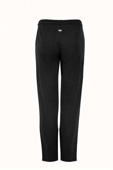 Spodnie bawełniane LUCCA PANTS czarne_5