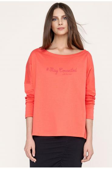 NANETTE T-SHIRT LONG...