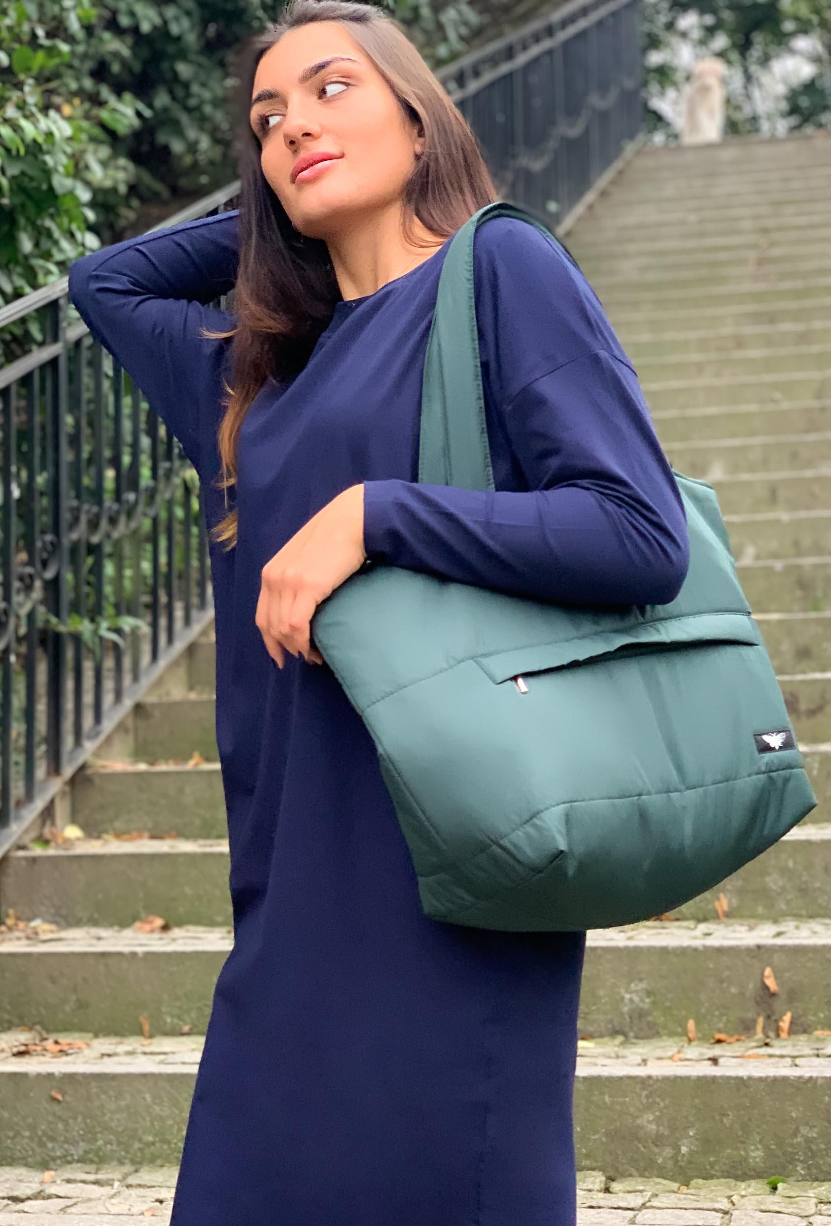 Torba na ramię MATILDA SHORT BAG butelkowa zieleń_1