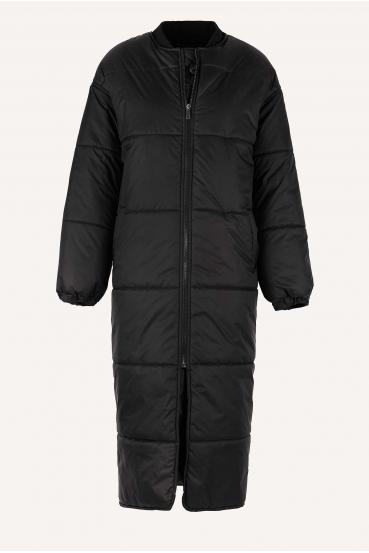 Płaszcz pikowany FLAVIE COAT czarny_3