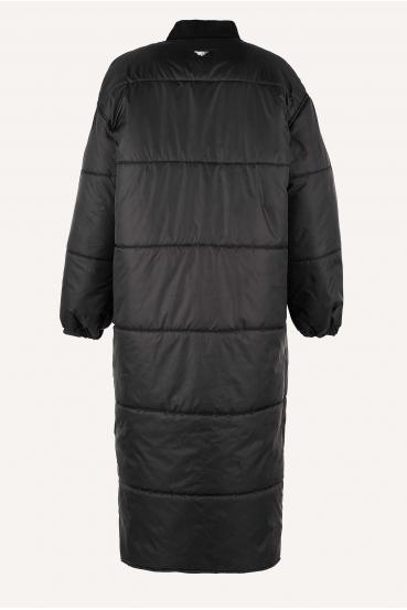 Płaszcz pikowany FLAVIE COAT czarny_4
