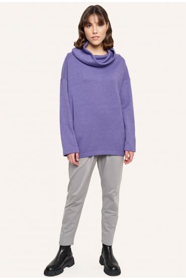 Sweter luźny RACHEL SWEATER fioletowy_3