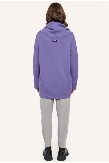 Sweter luźny RACHEL SWEATER fioletowy_4