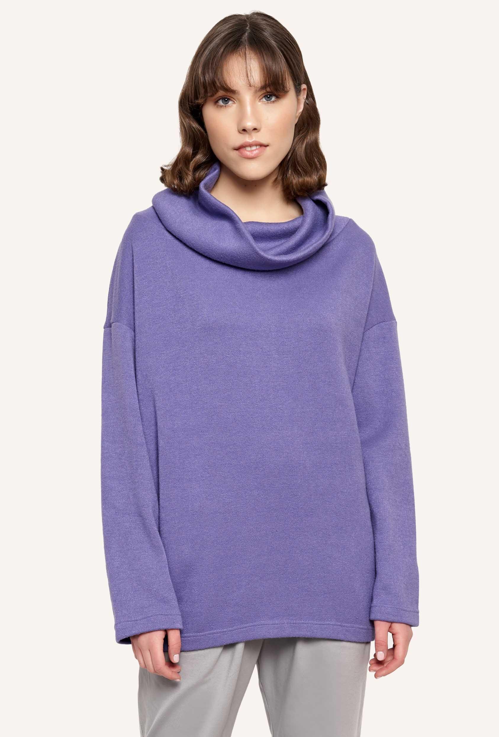 Sweter luźny RACHEL SWEATER fioletowy_1