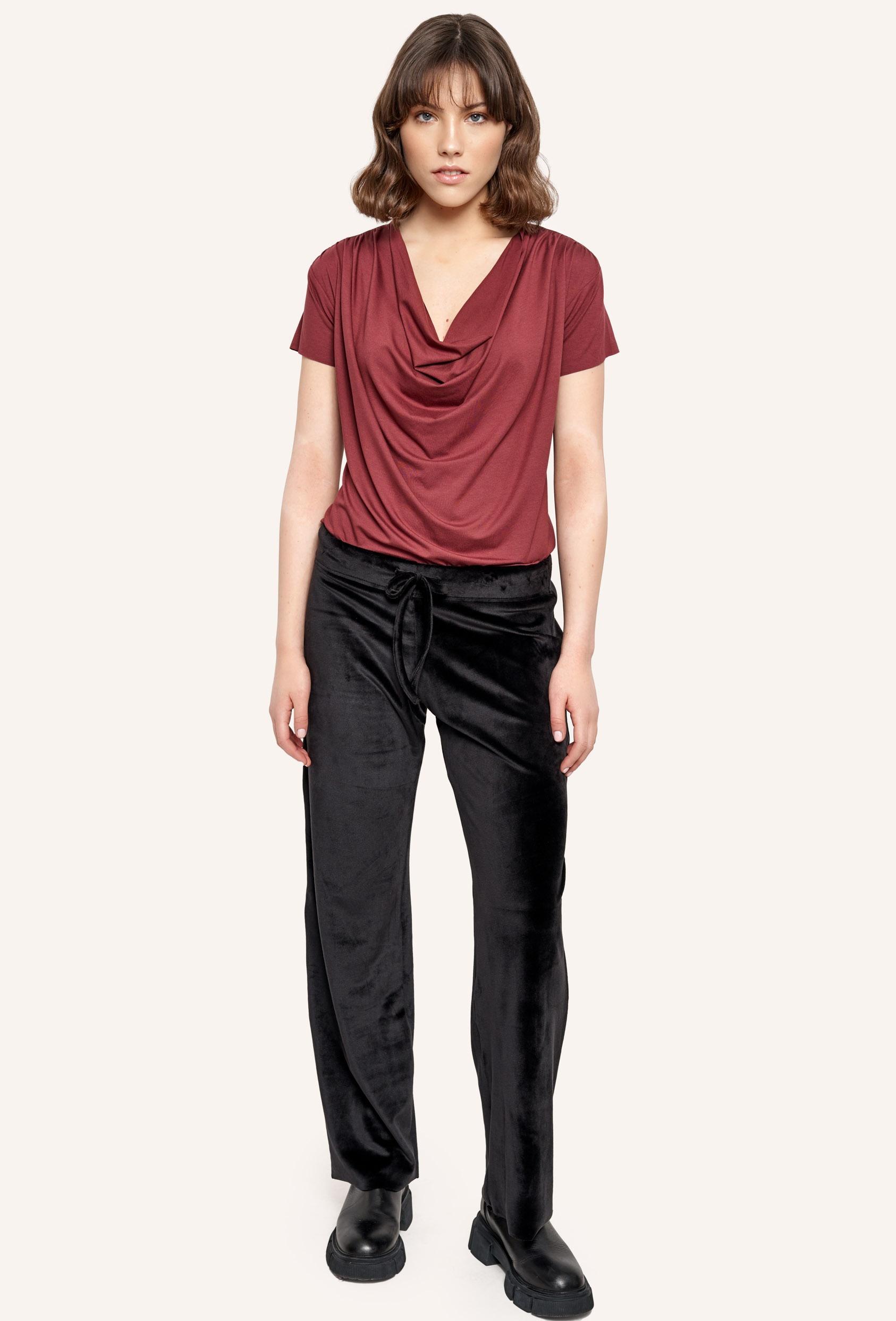 Spodnie bawełniane LUCCA PANTS LTD czarne