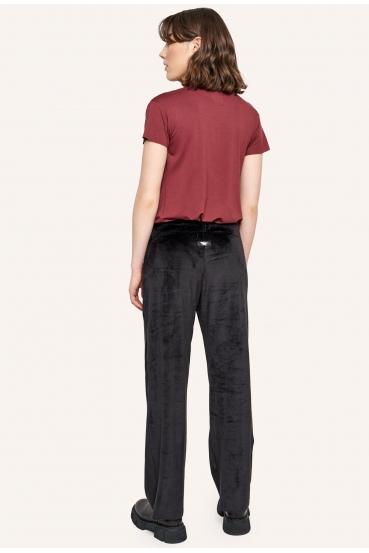 Spodnie bawełniane LUCCA PANTS LTD czarne_1