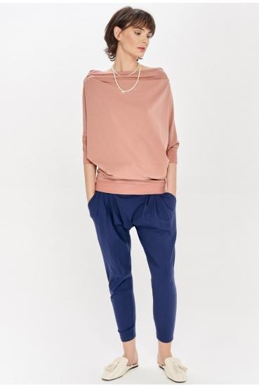 Bluzka oversize KLARA BLOUSE różowa