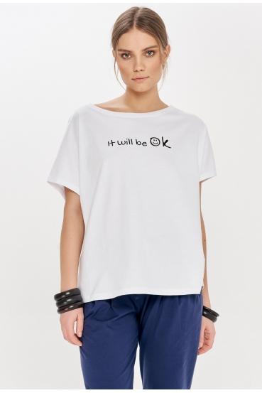 "NANETTE T-SHIRT ""OK"""