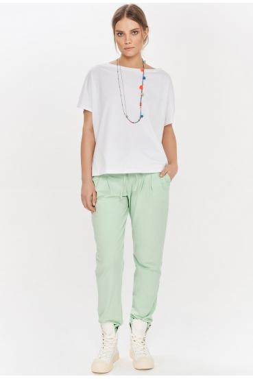 Koszulka oversize NANETTE T-SHIRT biała_1