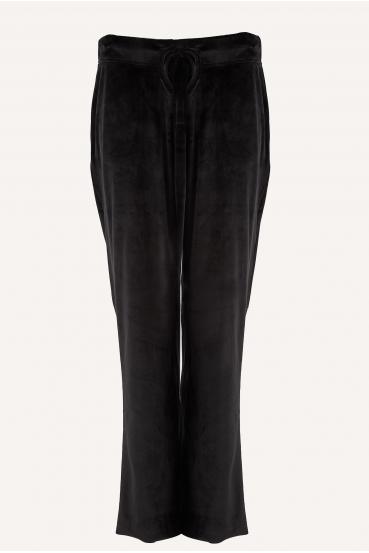 Spodnie bawełniane LUCCA PANTS LTD czarne_2