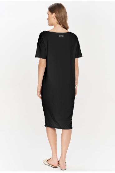 Sukienka midi TANYA DRESS czarna_2