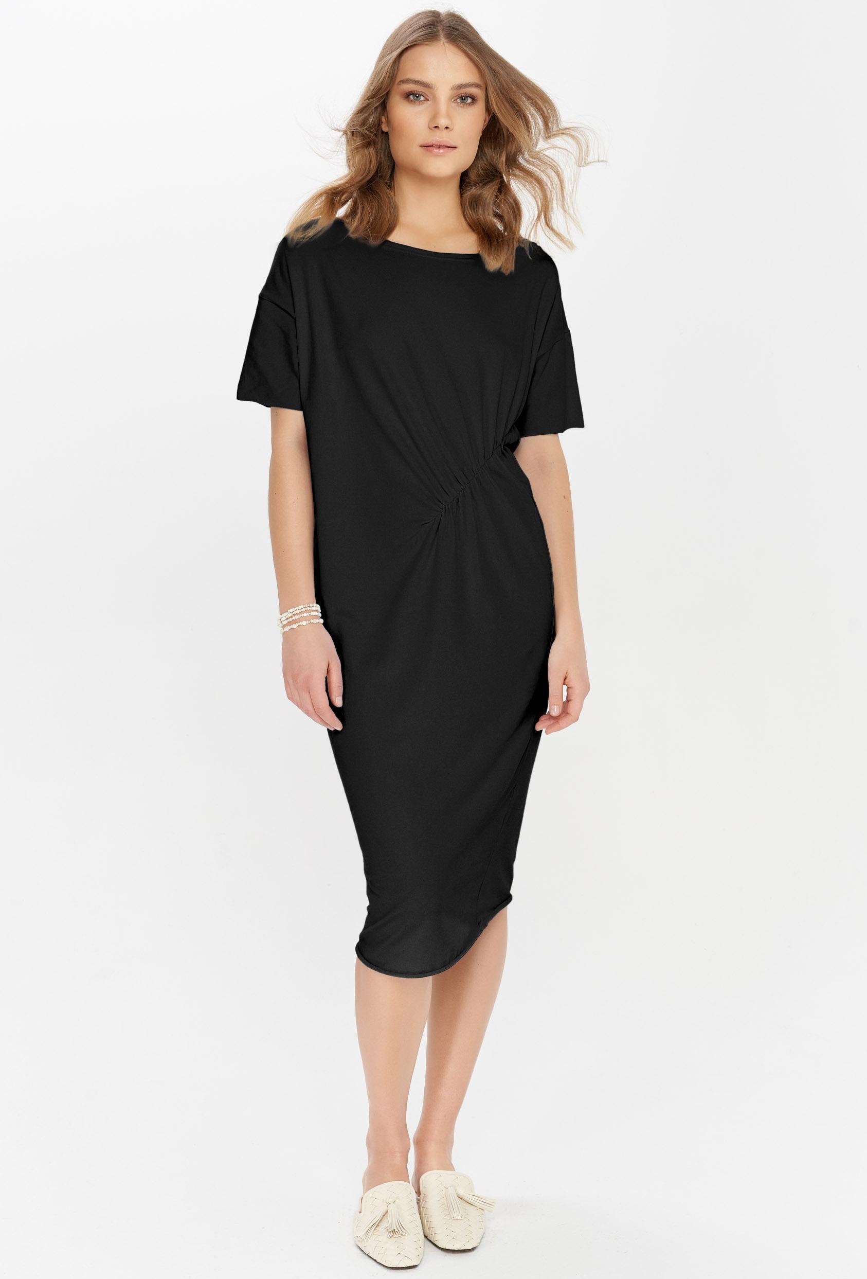 Sukienka midi TANYA DRESS czarna