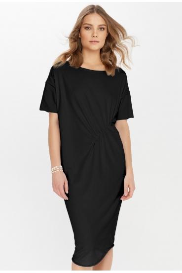 Sukienka midi TANYA DRESS czarna_1