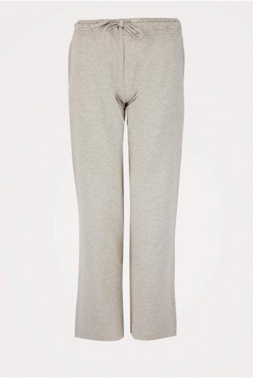 Spodnie bawełniane LUCCA PANTS szare_2