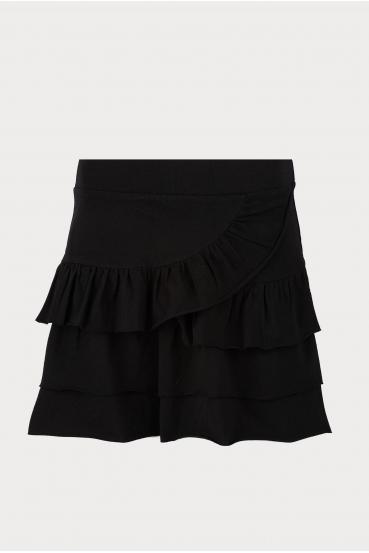 Spódnica mini KLOSS SKIRT czarna_3