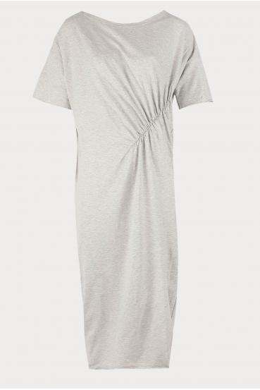 Sukienka midi TANYA DRESS szara_3