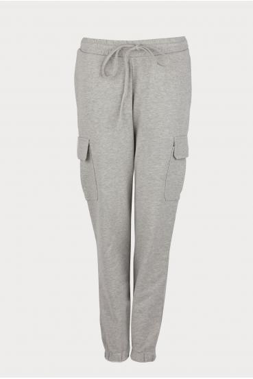 Spodnie bojówki ZAIDA PANTS szare_2
