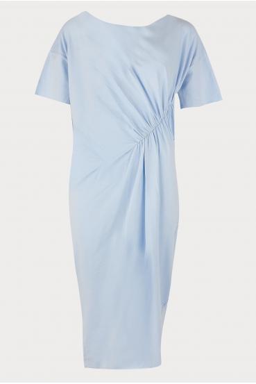 Sukienka midi TANYA DRESS błękitna_3