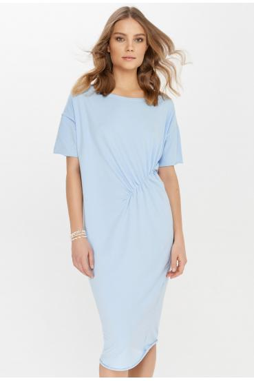 Sukienka midi TANYA DRESS błękitna_1