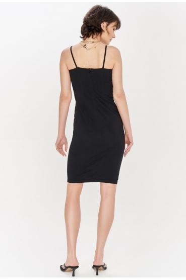 Sukienka mini SAVON DRESS czarna_3