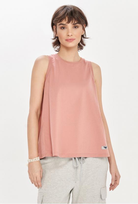 Koszulka na ramiączkach TAMI TOP różowa