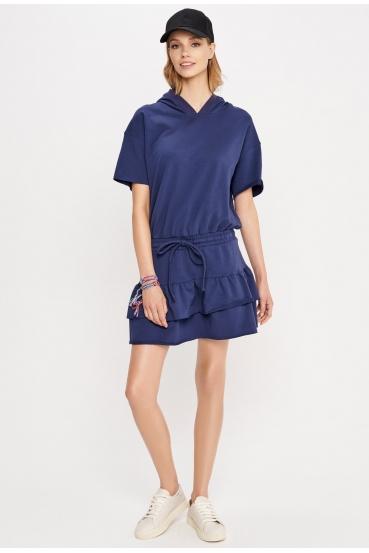 Sukienka mini CARLOTA DRESS granatowa_1