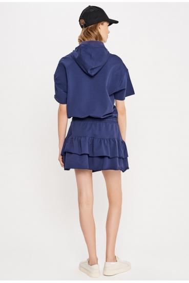 Sukienka mini CARLOTA DRESS granatowa_2