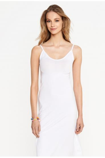 Sukienka midi ESTINE DRESS biała_1