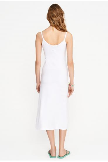 Sukienka midi ESTINE DRESS biała_2