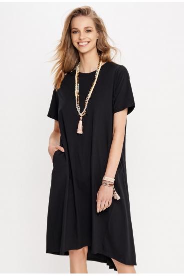 Sukienka midi JOVANNA DRESS czarna_1
