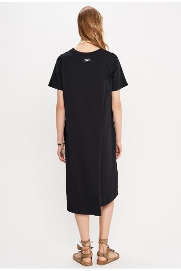 Sukienka midi JOVANNA DRESS czarna_2