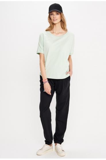 Bluzka z krótkim rękawem SIERRA BLOUSE zielona_1