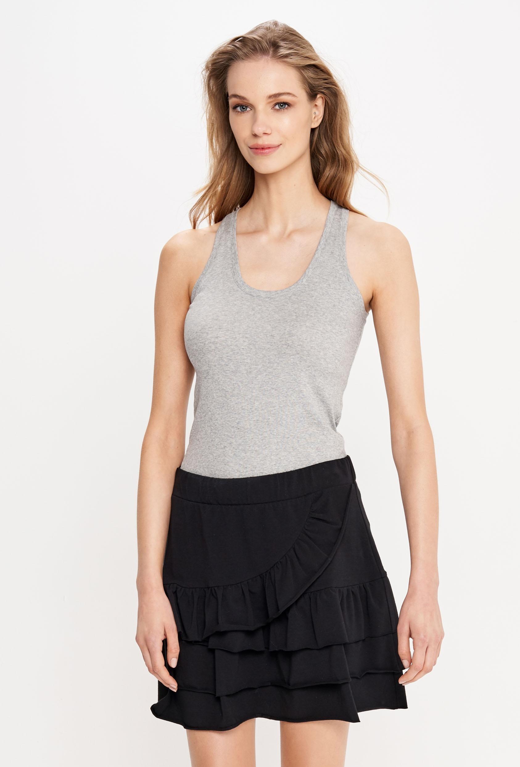 Spódnica mini KLOSS SKIRT czarna
