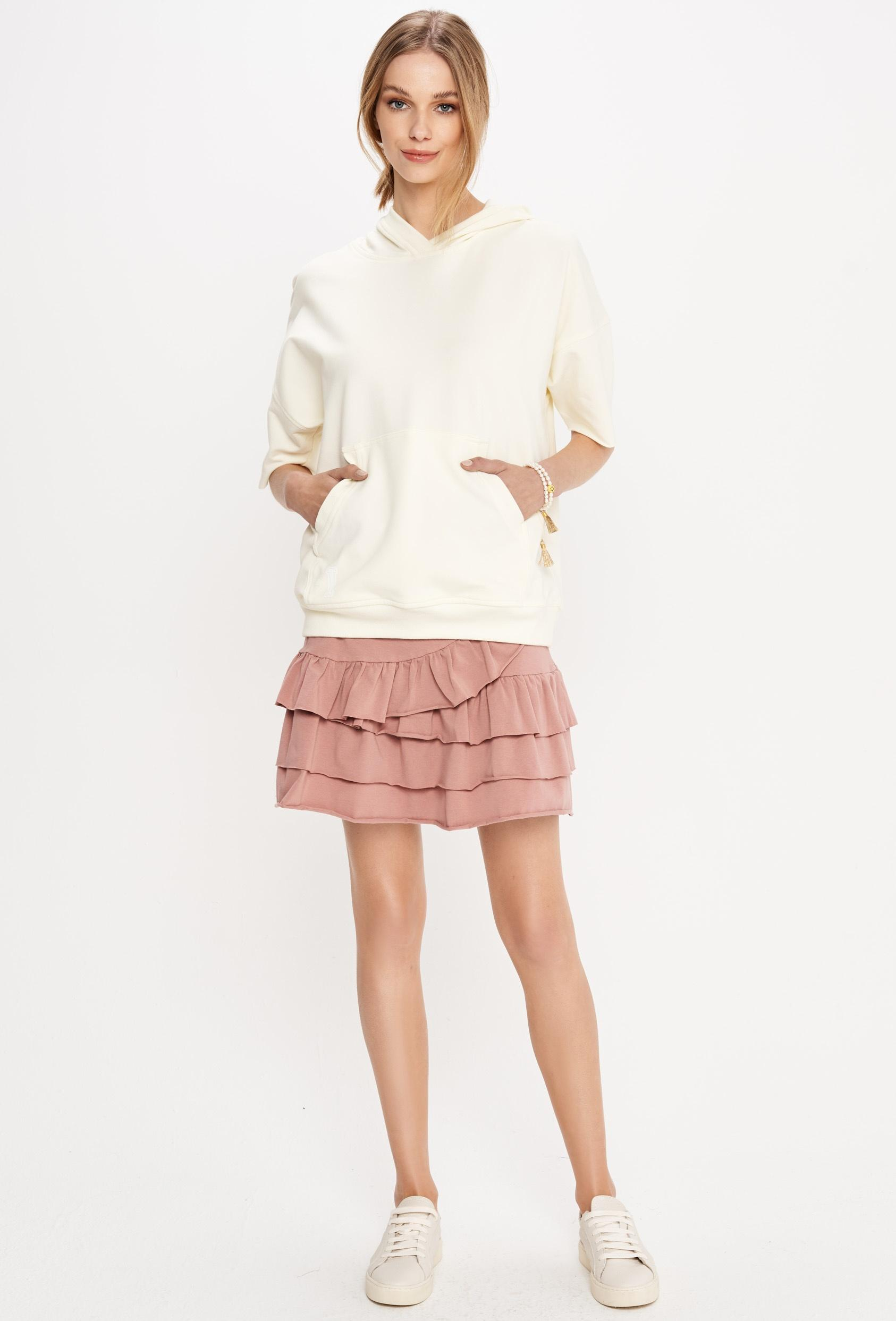 Spódnica mini KLOSS SKIRT różowa