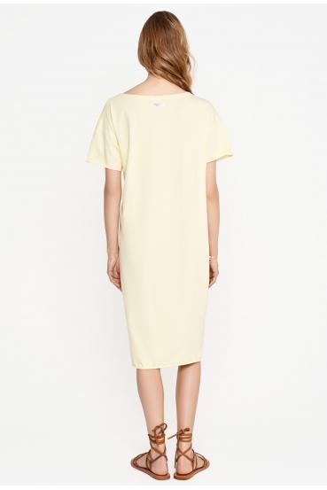Sukienka midi TANYA DRESS żółta_1