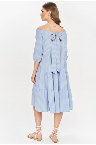 Sukienka midi LYDIA DRESS LTD błękitna_2